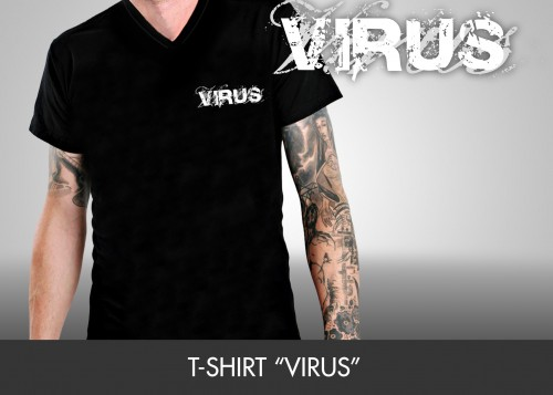 """T-Shirt """"VIRUS"""""""