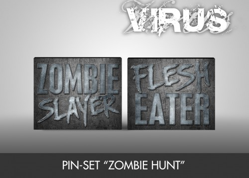 "Pin-Set ""Zombie Hunt"""