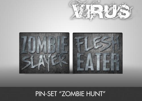 "Pin-Set ""Zombie Hunt"""