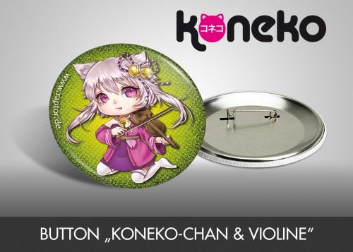 "Button ""Koneko-chan & Violine"""