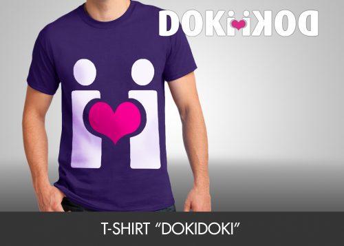 """T-Shirt """"dokidoki"""""""