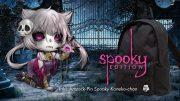 Ansteck-Pin Spooky Koneko-chan