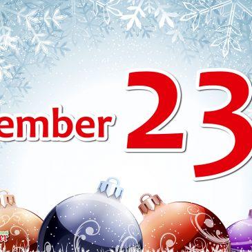 rap*ventskalender 2016 => 23. Dezember