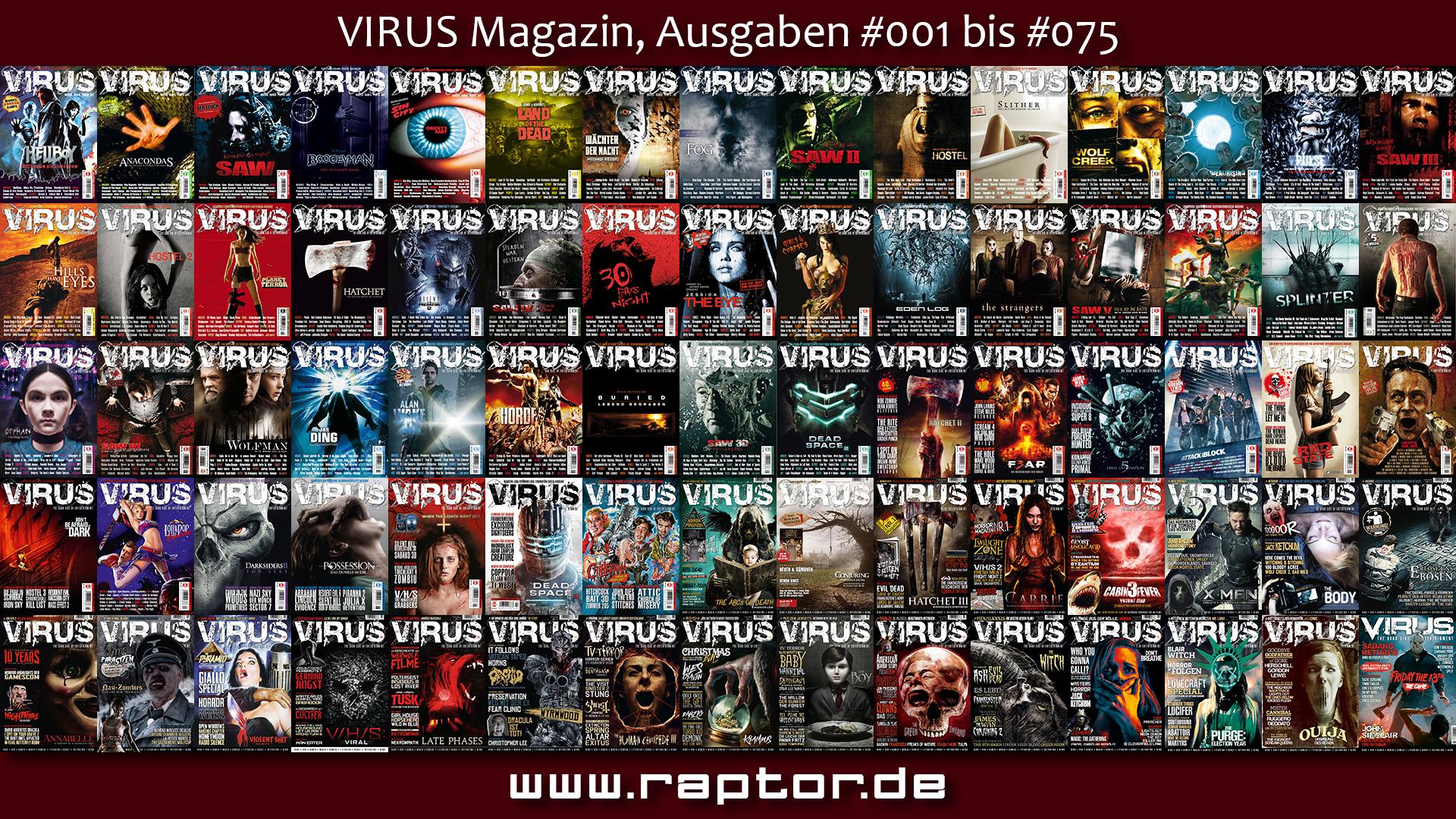 VIRUS 75 Ausgaben