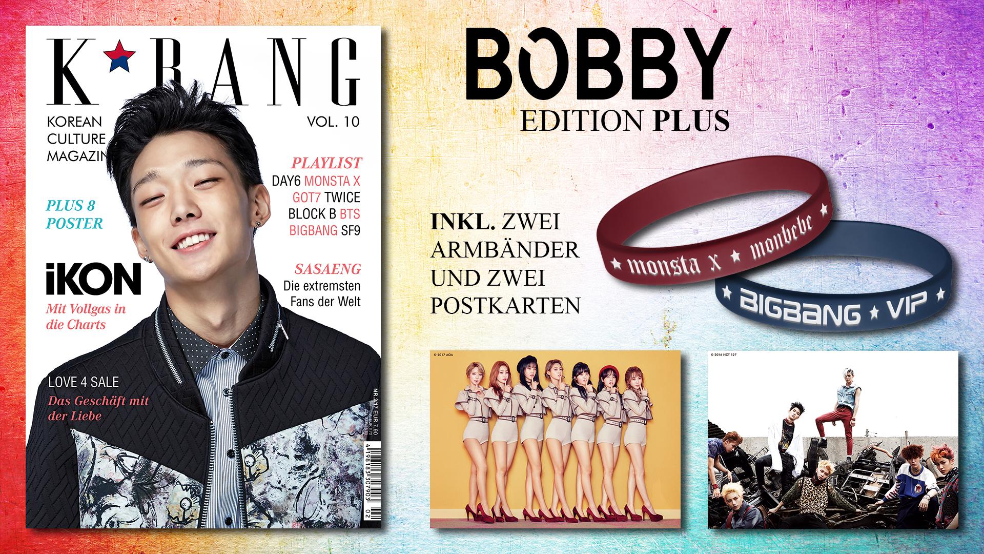 K*bang Bobby Edition Plus