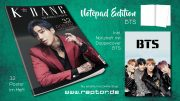 K*bang Readers Choice #02 Notepad Edition BTS