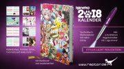 Koneko Kalender 2018 Stylus Light Pen Edition