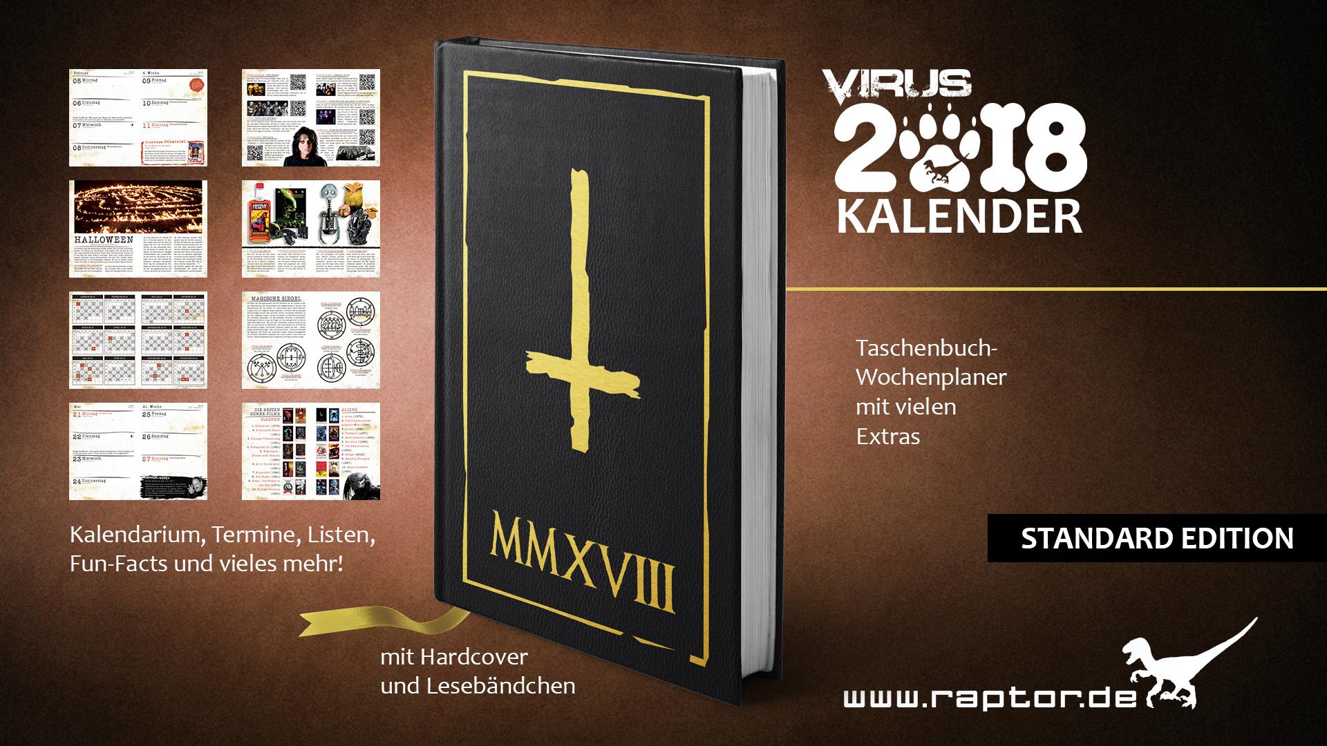 VIRUS Kalender 2018 Standard Edition