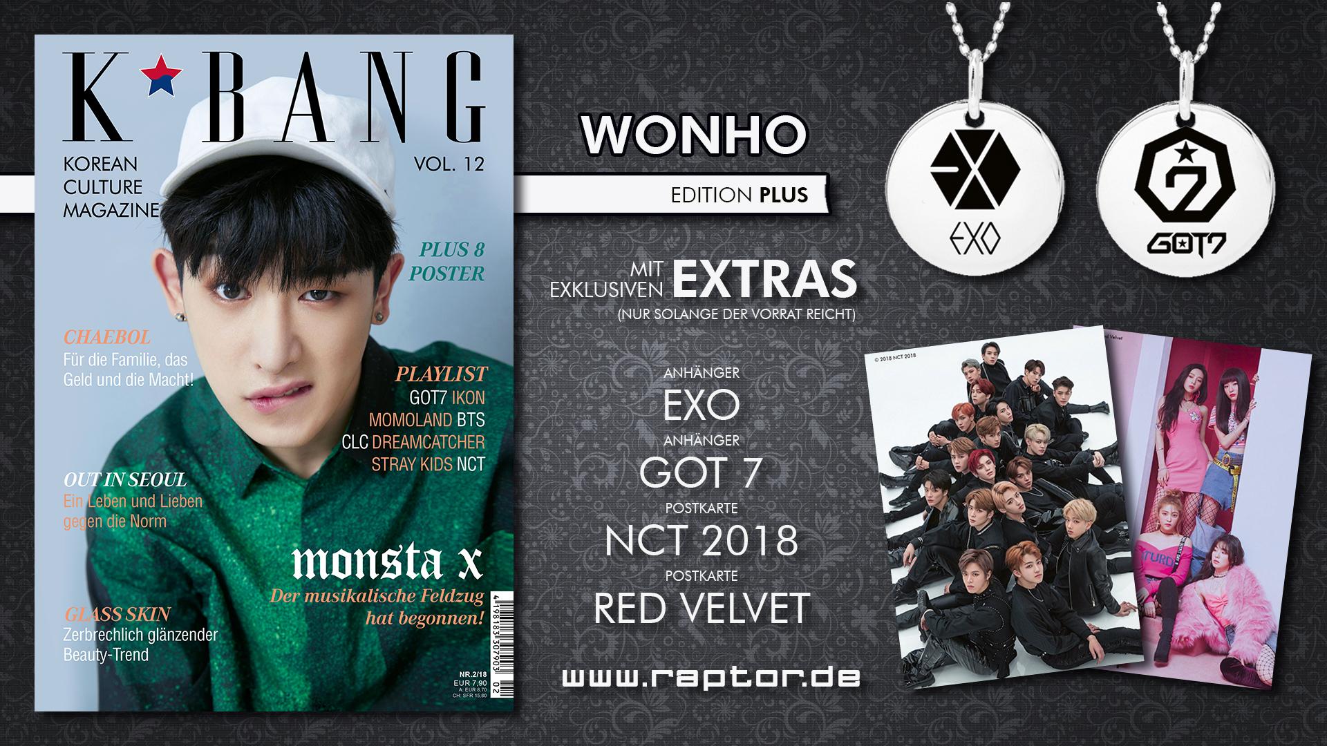 K*bang #12 Wonho Edition Plus