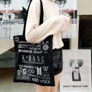 K*bang GOLD #04 Canvas Bag & Button
