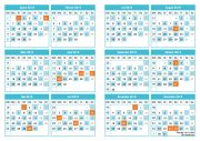 EXP Kalender 2019
