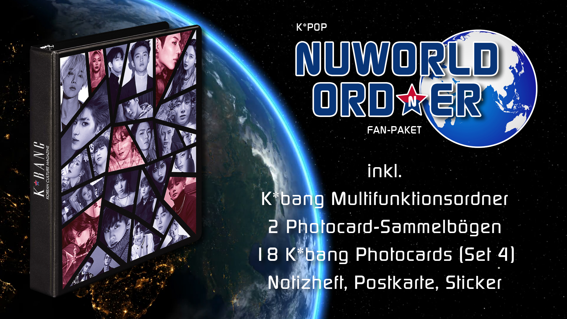 K-Pop Nuworld Ord(n)er