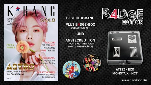 K*bang GOLD #06 B4DGE Edition