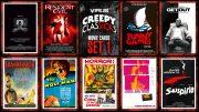 VIRUS Creepy ClasSICKs Movie Cards Set #001