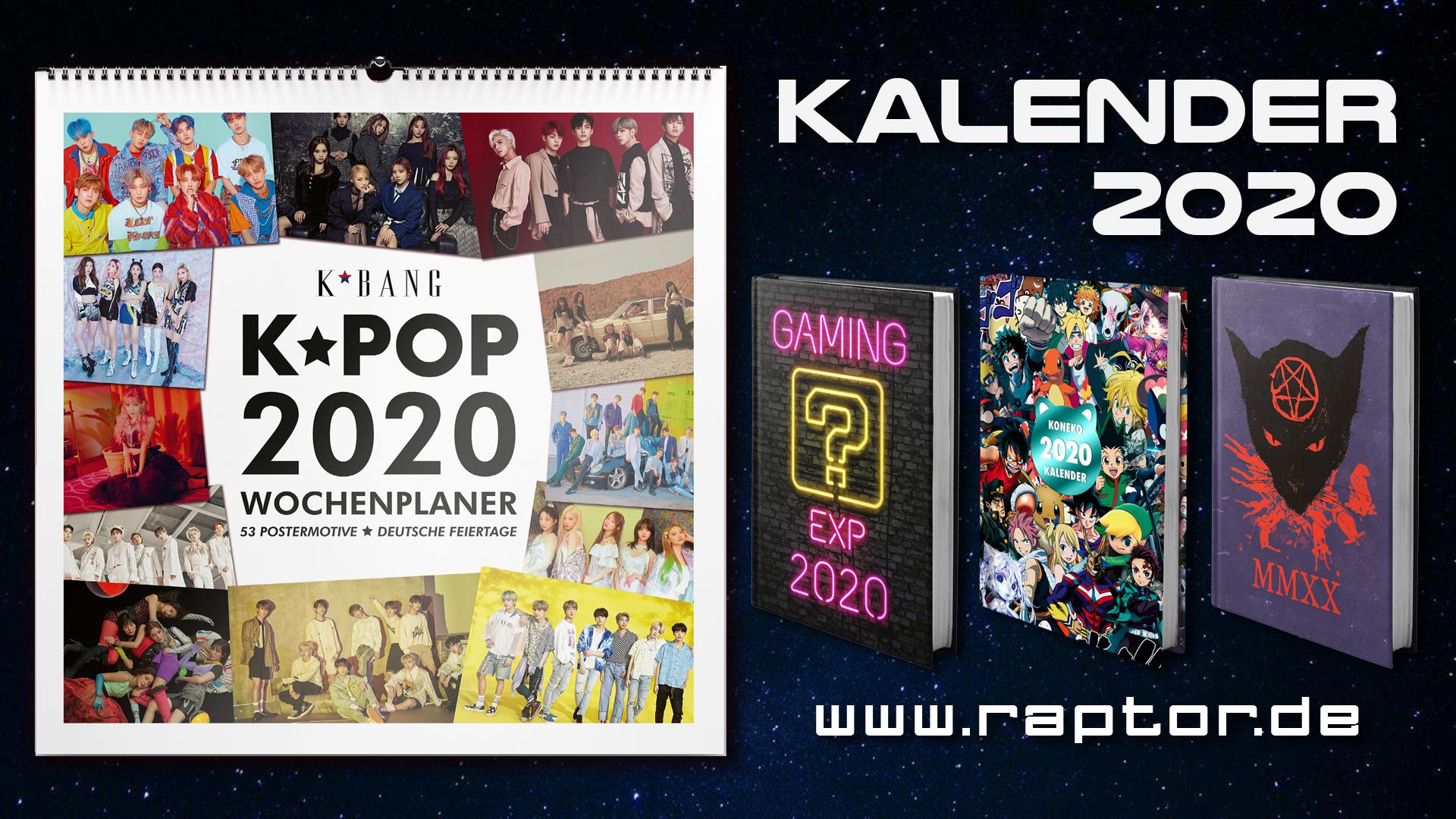 raptor Kalender 2020
