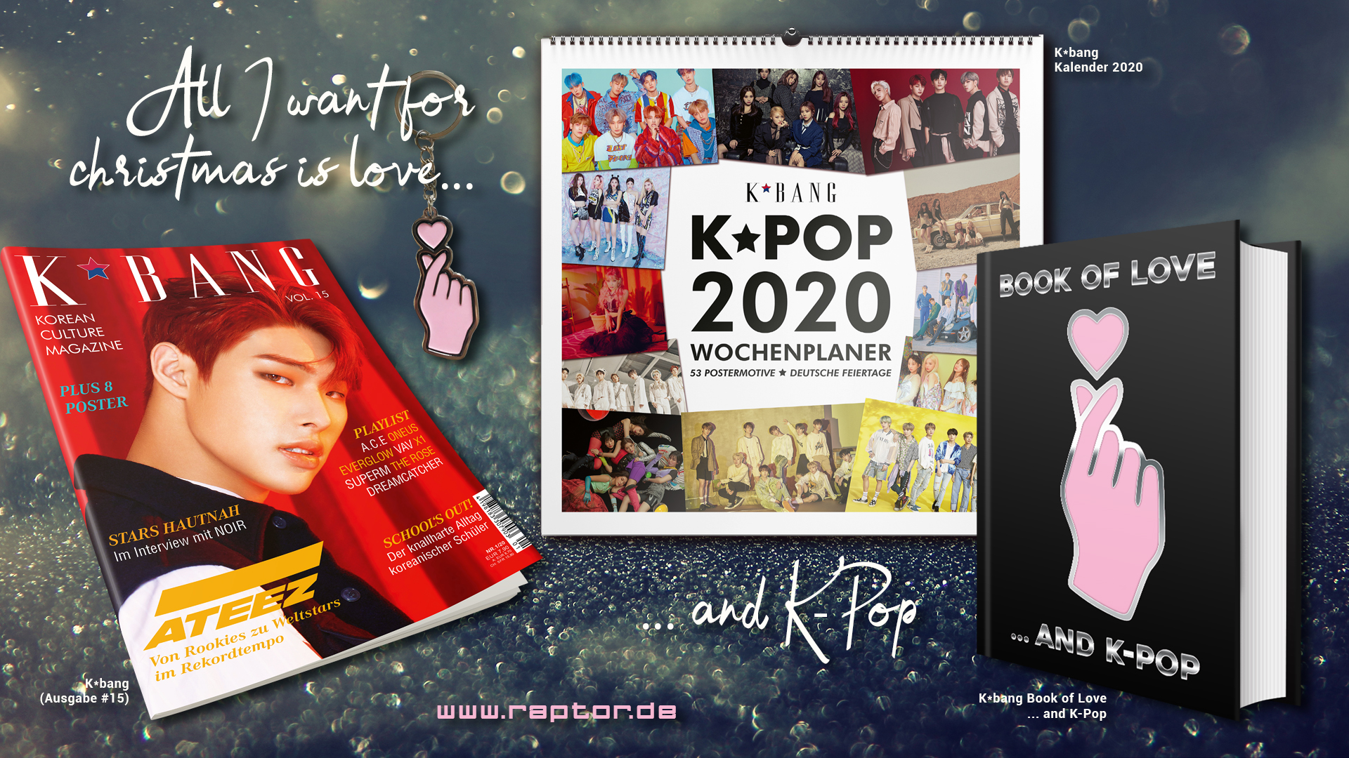 All I want for christmas is love ... and K-Pop