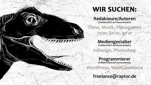 Wir suchen … Freelancer