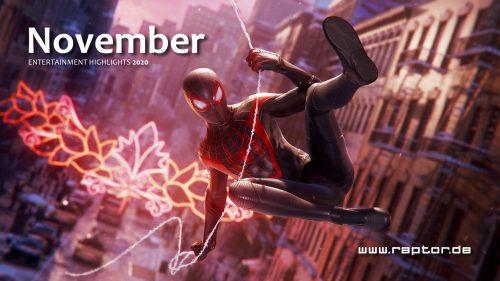 November 2020 Entertainment Highlights