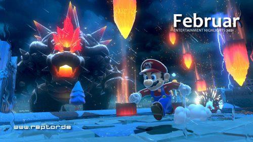 Februar 2021 Entertainment Highlights
