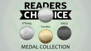Readers Choice Medal Collection