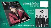 K*bang Readers Choice #02 Notepad Edition MONSTA X