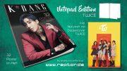 K*bang Readers Choice #02 Notepad Edition TWICE