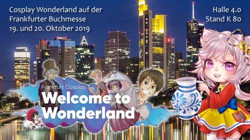 Cosplay Wonderland auf der Frankfurter Buchmesse 2019