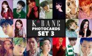 K*bang Photocards Set #03