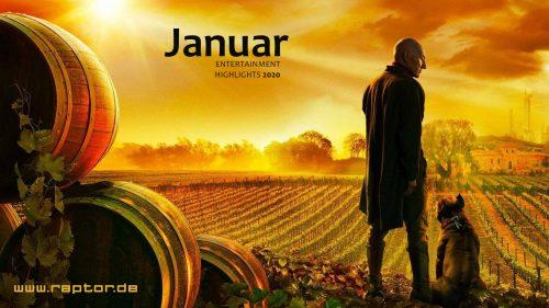 Januar 2020 Entertainment Highlights