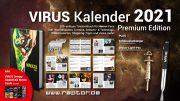 VIRUS Kalender 2021 Premium Edition