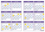 EXP Kalender 2021