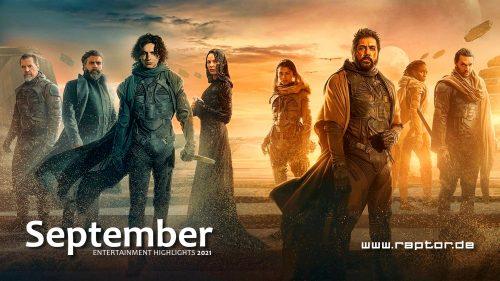 September 2021 Entertainment Highlights