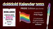 dokidoki Kalender 2022 Pride Edition